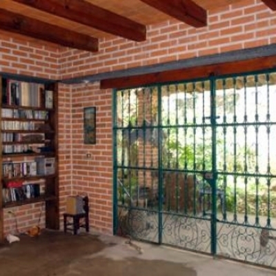 Construcci n casa ladrillo aparente aguascalientes for Casas rusticas de ladrillo