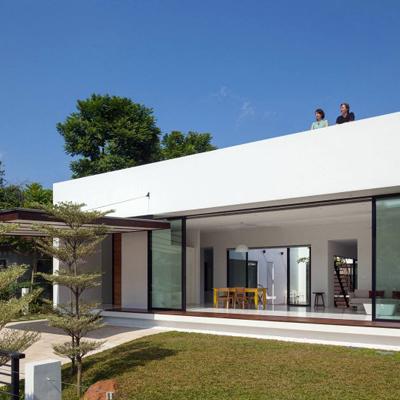 Construccion casa un nivel santa cruz xoxocotl n oaxaca for Casa minimalista un nivel