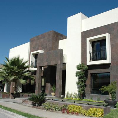 Construcci n de una casa estilo contempor neo atizap n for Casas decoradas estilo contemporaneo