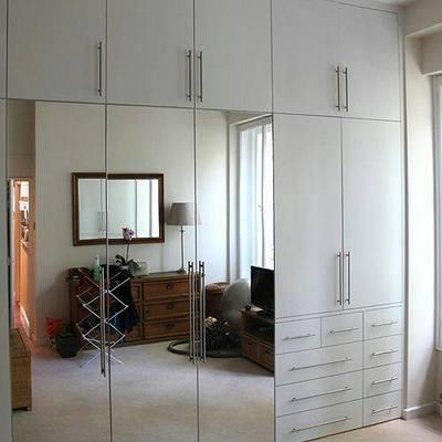 Closet de madera para recamara lvaro obreg n distrito for Recamaras de madera df