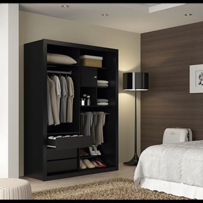 Hacer muebles a medida closet vestidor de 3 60 mts x 2 30 for Closets estado de mexico
