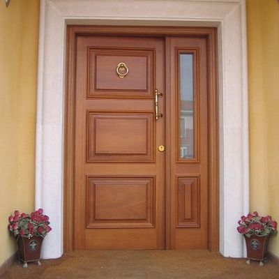 Proveer puertas de tableros de madera de 1 10 x 2 10 - Como colocar una puerta de madera ...