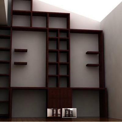 Muebles de madera dise o moderno y para espacios for Diseno de libreros para espacios pequenos