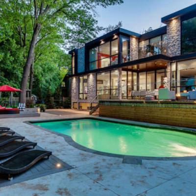 Construir una casa es de 2 pisos con alberca cuento con for Cuanto me cuesta hacer una piscina