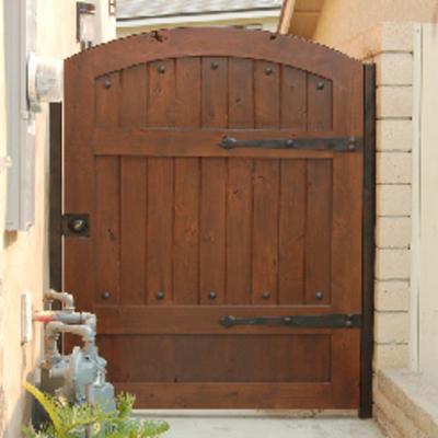 Puerta de madera para jard n de 97 cm x 2 00 mts - Puertas de madera para jardin ...