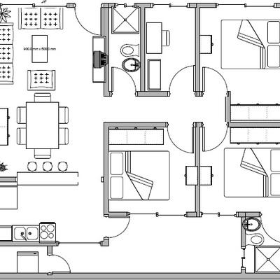 Construir departamento de 90 m2 gustavo a madero for Realizar planos de casas gratis