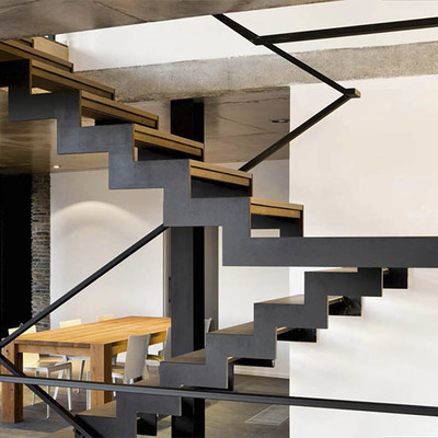 Escaleras Para Casas Modernas Best Escalera Metalica With Escaleras