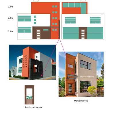 Construcción de casa el terreno es de 8x16 metros - Canal de Chalco ...