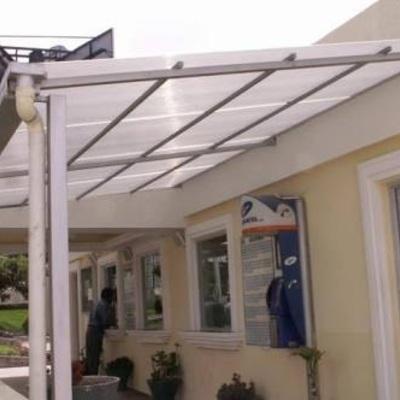 elaboraci n e instalaci n de techo para patio de atr s