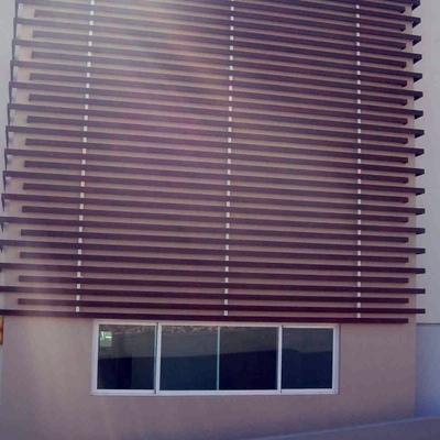 Panel de aluminio tipo madera para fachada exterior tlalnepantla de baz estado de m xico - Tipo de madera para exterior ...