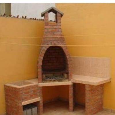 Construcci n de asador en patio saltillo coahuila for Asador en patio pequeno