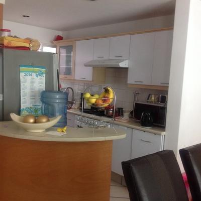 Remodelar mi cocina peque a cambiar de lugar la barra for Remodelacion de cocinas pequenas