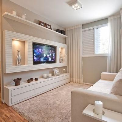 Hacer un m dulo para tv con tablaroca el rea es de 3 - Muebles para balcon pequeno ...
