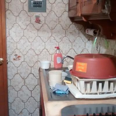 Remodelar cocina peque a piso y paredes quitar poner for Remodelar cocina pequena