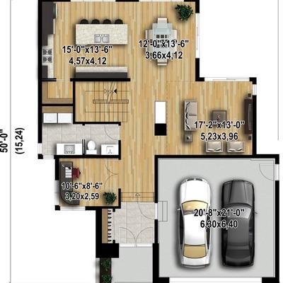 Dise o y construccion de casa las vegas santiago for Diseno y construccion de casas