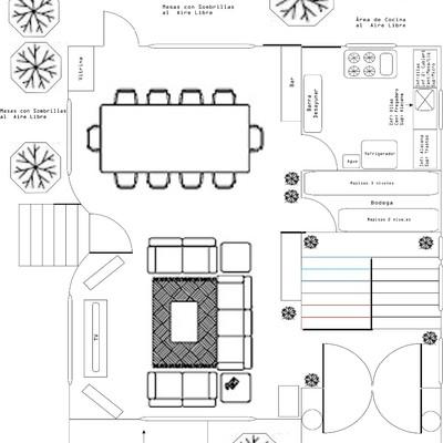 planos de casas 8×8