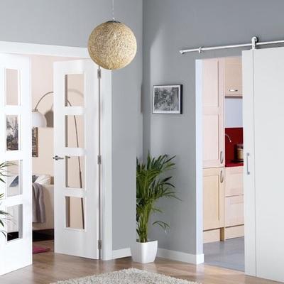 Puerta de madera 100x220cm 2 hojas para rec mara san for Modelos de puertas de madera para recamaras