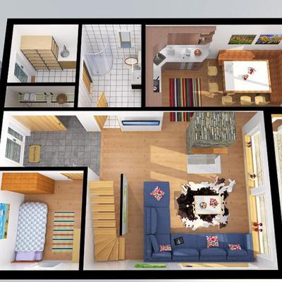 Planos para construir una casa de 80 mt2 cuautitl n for Planos para tu casa
