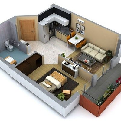 Proyecto de casa habitacion para soltero jalpa de m ndez for Planos de casas de una habitacion