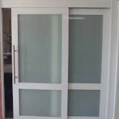 Puerta corrediza de aluminio pvc para interior miguel for Puerta corrediza pvc