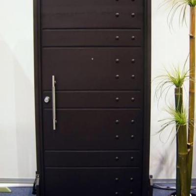 Trabajo de herrer a puerta de forja miguel hidalgo for Puertas de herreria para interiores