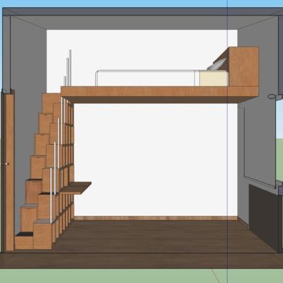 Hacer un tapanco en una recamara tlalp n centro tlalpan for Recamaras de madera df