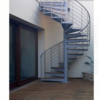 Escalera de herreria de caracol o recta lvaro obreg n for Fotos de escaleras de herreria