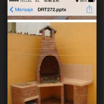 Asadores de ladrillo para patio modern patio outdoor - Como construir una chimenea ...