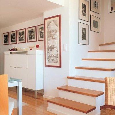 Forrar las escaleras de madera de pino o cedro tec mac for Escaleras en escuadra
