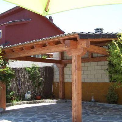Techo para patio de morelia medida del techo es de 3 m de for Ideas para hacer un techo en el patio