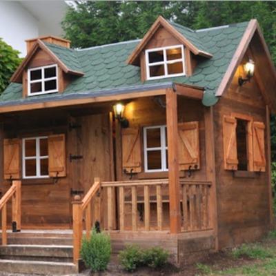 Como hacer casa de madera casas eficientes de madera with como hacer casa de madera latest - Como fabricar una casa de madera ...