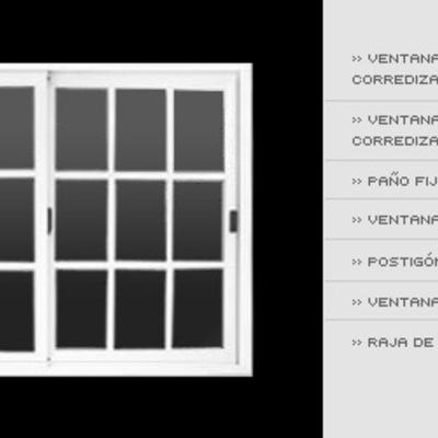 Urge ventanas de aluminio blancas para casa toluca for Colores de aluminio para ventanas en mexico