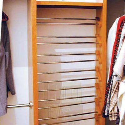Closet con zapatera le n guanajuato habitissimo for Zapateras para closet madera