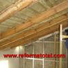 Construcciòn de tejado rustico