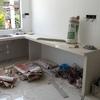 Construir base de cocina  mide entre 1. 60m de lado por 1. 20m