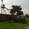 Construir una alberca de 5mts de ancho por 50 mts de largo