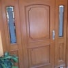 Cambio de tono y barniz a puerta de entrada principal