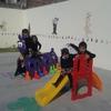 Cubrir patio del jardin de niños