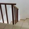 Instalacion de barandal en escalera