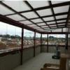 Instalación de tejado en azotea