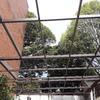 Instalación de vidrio templado en techo