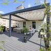 Instalación de pérgolas en terraza