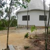 Cabaña ecologica con material proporcionado por el terreno