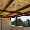 Instalación de techo pergolado en coyoacan, cerca de taxqueña