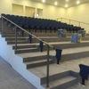 Alfombra en piso para foso de orquesta: suministro y colocación de alfombra de tránsito pesado