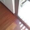 piso de bamboo carbonizado