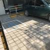 Remodelar el señalamiento de un estacionamiento y remodelación de una rampa para minusvalidos