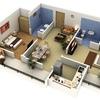 Construir casa con negocio en la parte de abajo de 80mts cuadrados.