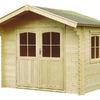 Cabañita habitación madera de pino