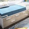 Fabricar base para cama individual tipo canguro